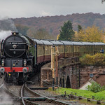 LNER A1 Class 60163 'Tornado' arrives into Bewdley